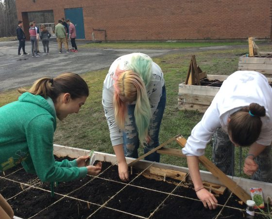 Outdoor Gardening with Cairine Wilson Secondary School