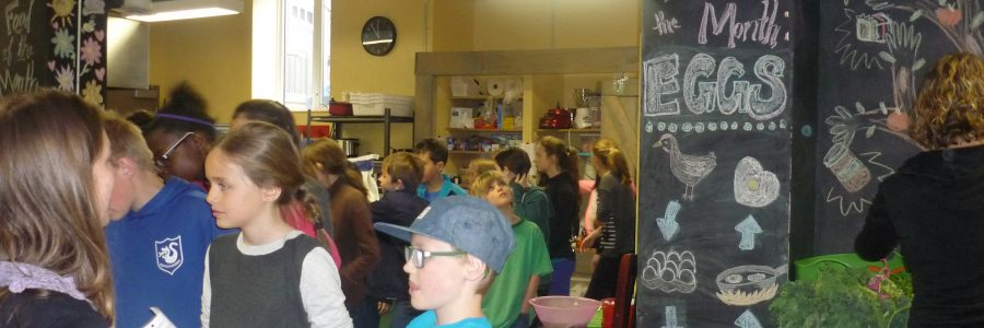 Building Community Through Good Food at Devonshire Community School