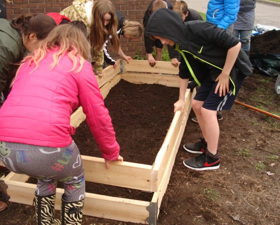Planting the Seeds of Healthy Eating at Regina Street Alternative School