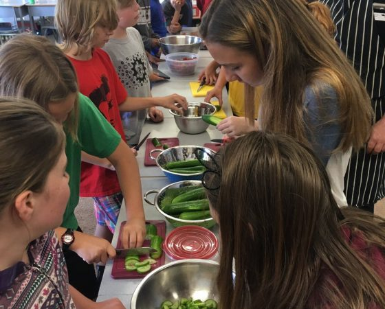 Cultivating Cooks at Woodroffe Avenue Public School